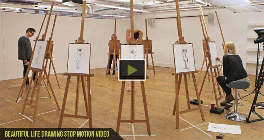 Beautiful Life-Drawing-Stop-Motion-Video-cgfrog