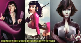 Stunning Digital Paintings and Illustrations by Artist Serge Birault-CGfrog-Banner