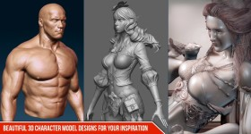Beautiful-3D-character-Model-designs-for-your-inspiration-Cgfrog-Banner-NEW
