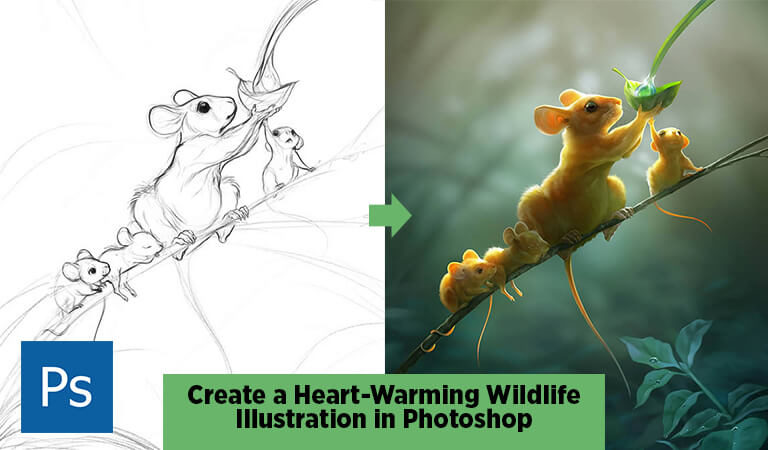 How to Make Illustration in Photoshop