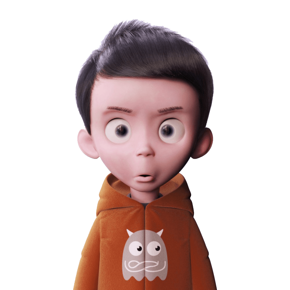 Download 3d Cartoon Funny Boy Png