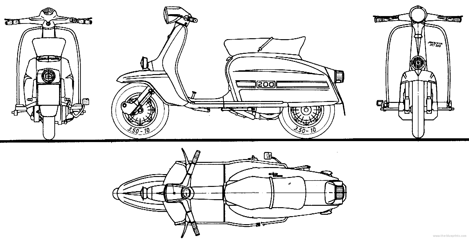 Motorcycle bike blueprints for 3d modeling cgfrog for Create blueprints online free