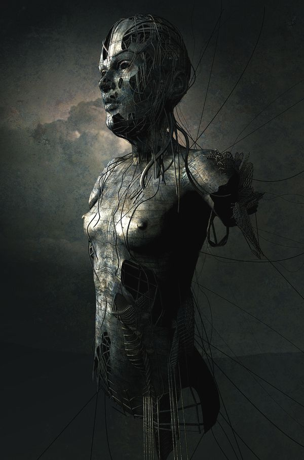 Statue-Bust_Graphic-Artist-Christopher-Haines_cgfrog