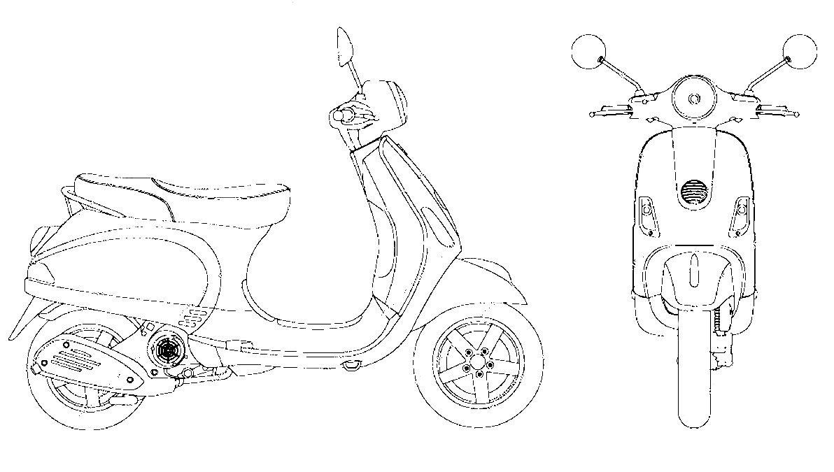 vespa carburetor diagram