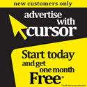 Advertise with cursor