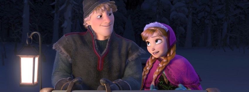 Frozen-Movie-anna-kristoff-sled-Facebook-Covers