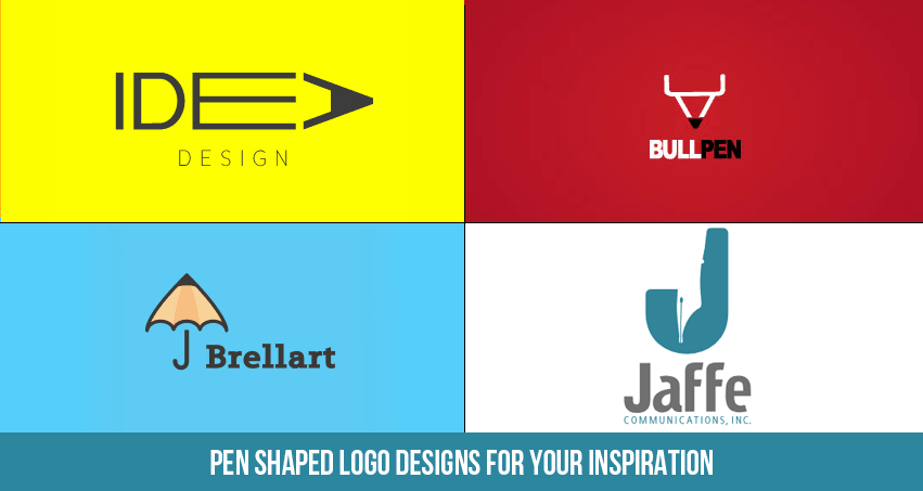 Pen Shaped Logo Designs for Your Inspiration