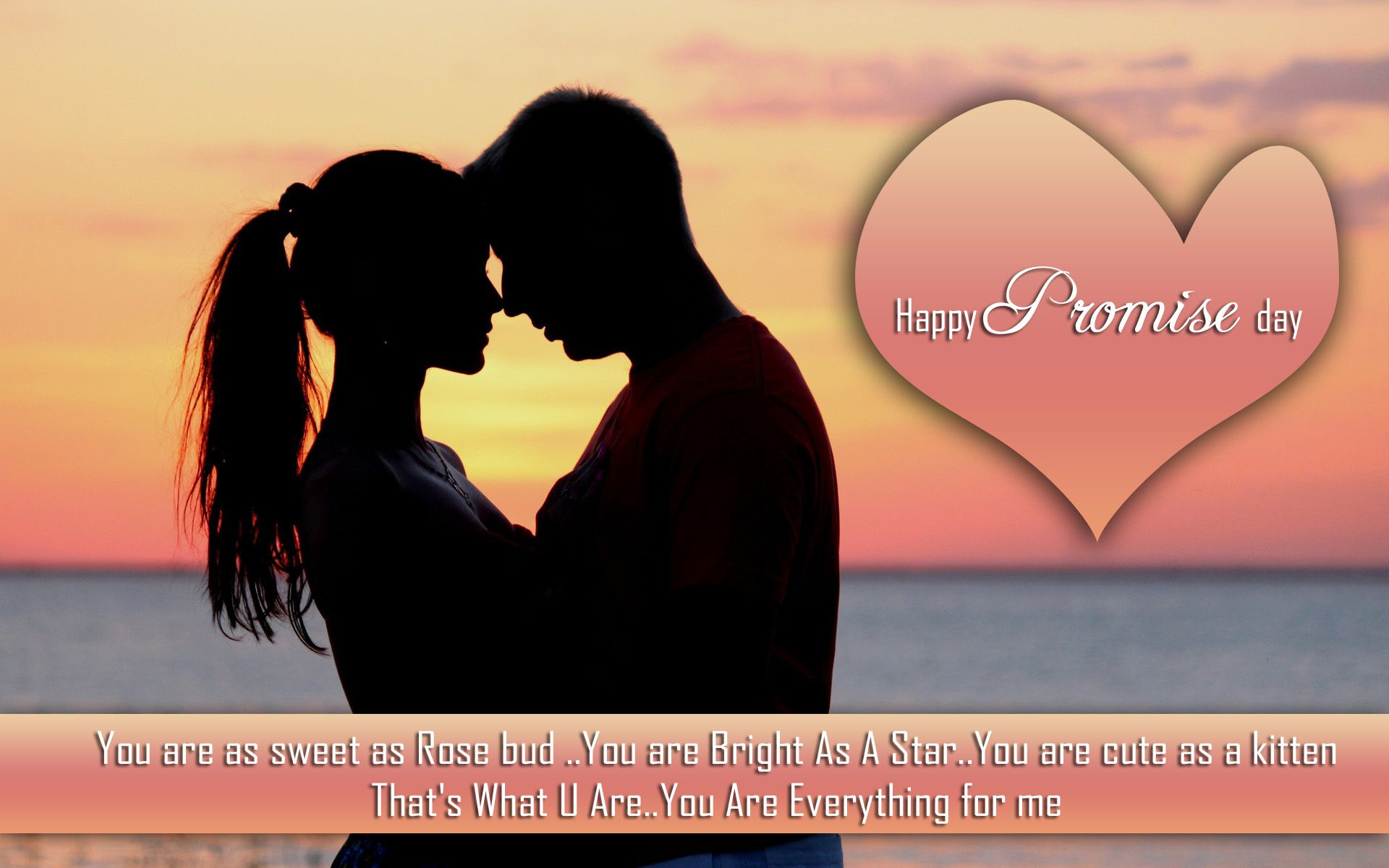 Download, Send, Promise Day Wishes, E-Greetings, Promise Day, Promise Day – 11 February, Happy Promise Day, Promise Day 2015, Loving Couples