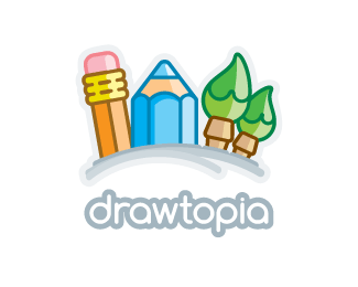 drawtopia Logo Design