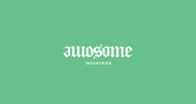 Awesome ambigram logo design