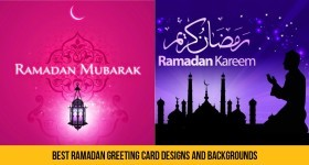 Best Ramadan Greeting Card Designs and Backgrounds