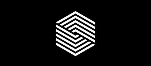 12-hexagon-line-logo