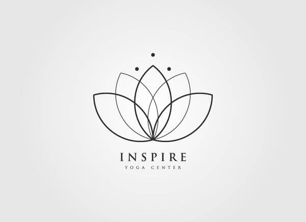Beautiful examples of creative Lotus Logo Design for your inspiration-cgfrog-1