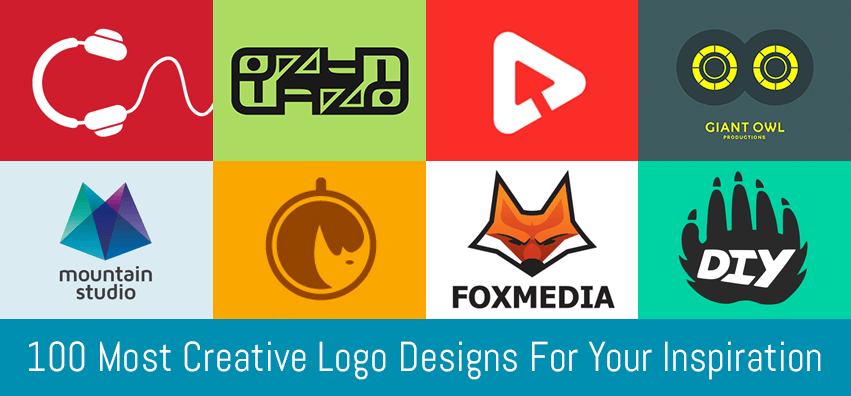 100 Most Creative Logo Designs For Your Inspiration | CGfrog
