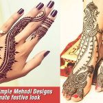 Beautiful-and-Simple-Mehndi-Designs-for-an-ultimate-festive-look
