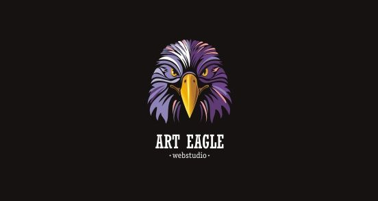 Art-Eagle-bird-logo-design