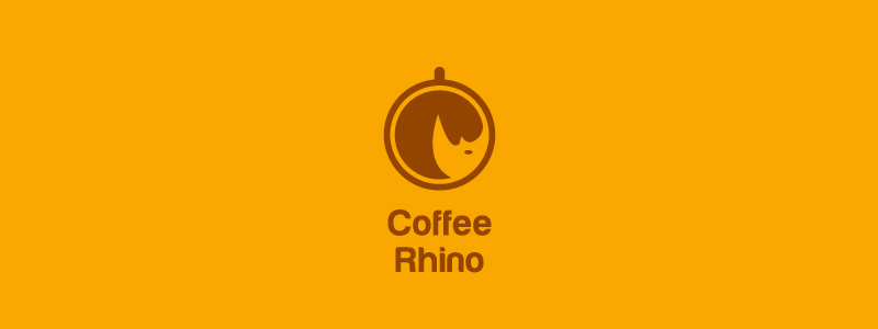 Coffee-Rhino-Logo-Design-Inspiration