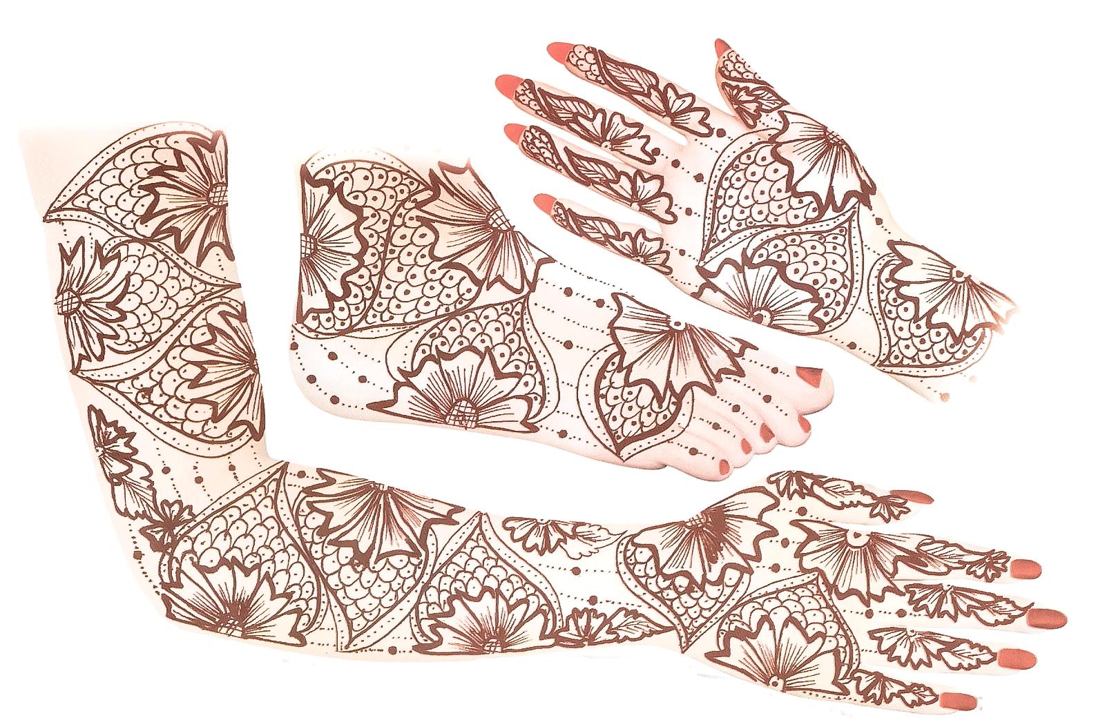 Mehndi_Designs-vector-sketch