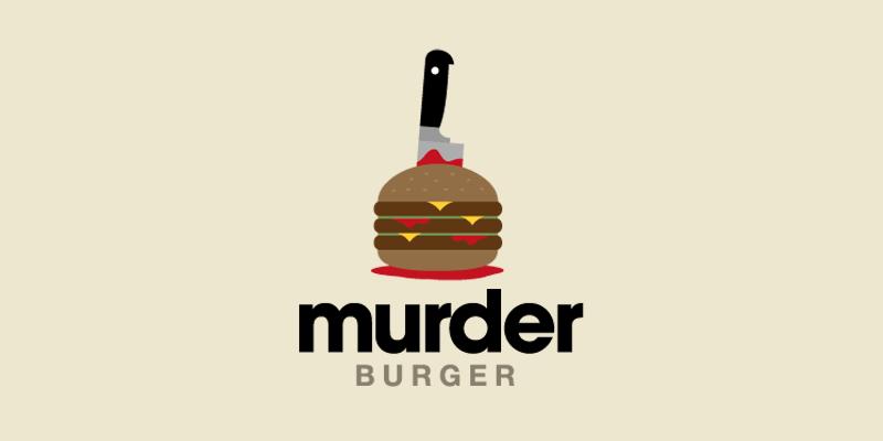 MurderBurger-Logo-Design-Inspiration