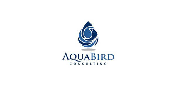 aqua_bird_consulting-bird-logo-design