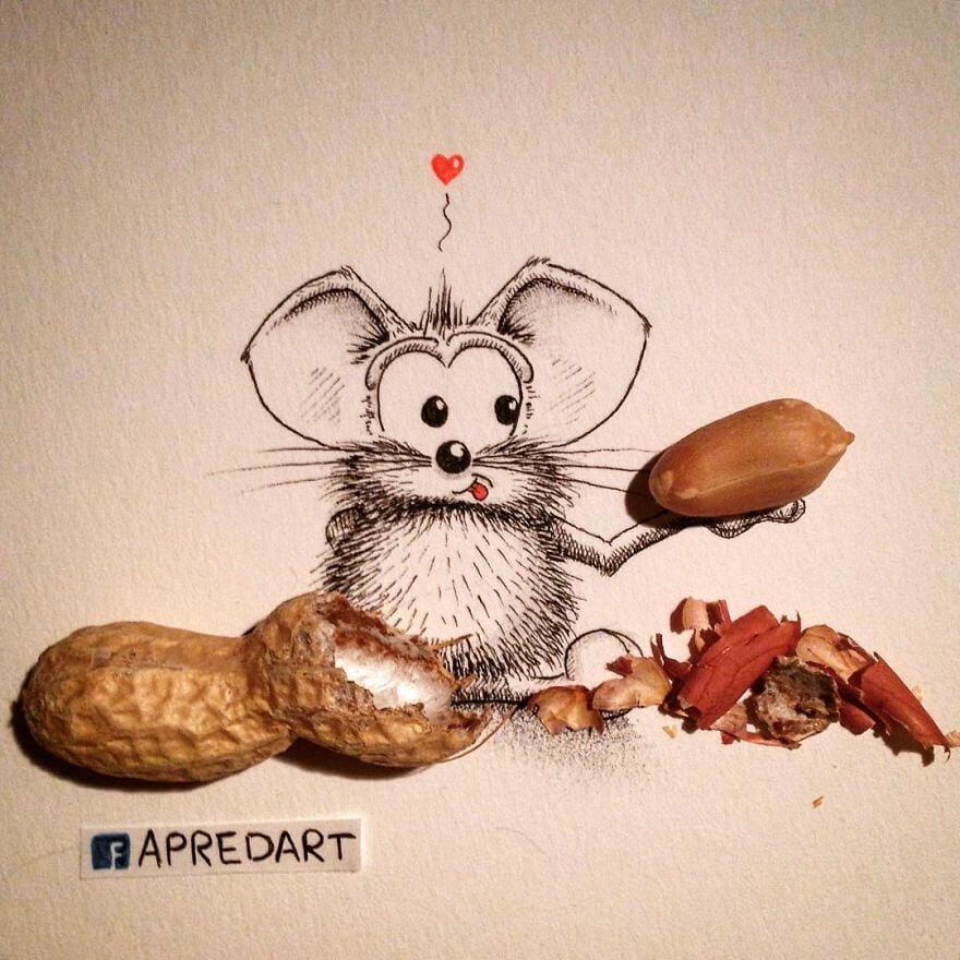 rikiki-mouse-want-tobe-part-of-real-life-with-penuts