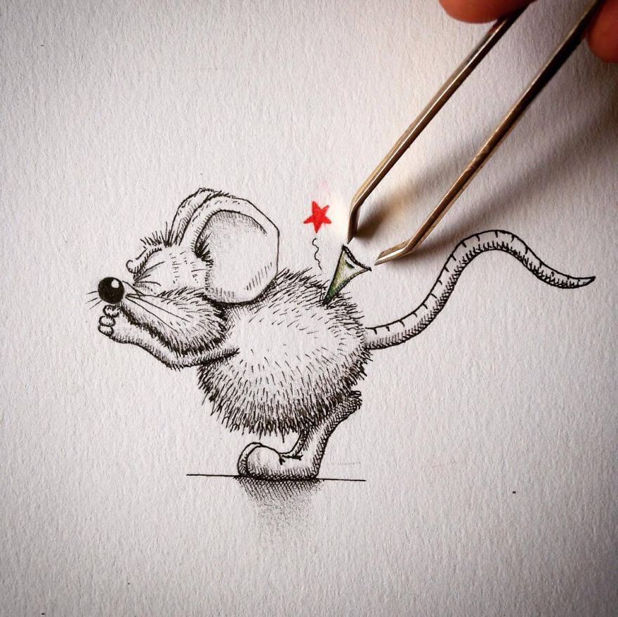 rikiki-mouse-want-tobe-part-of-real-life-with-plucker