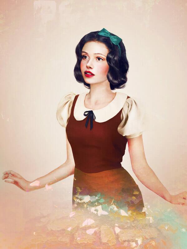 Snow White Real Life Disney Girls Esmeralda Jirka Vaatainen