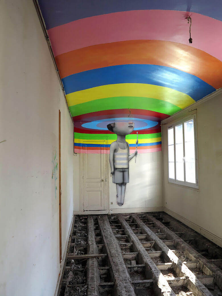 Street Art Mural Graffiti By Seth Globepainter Julien Malland