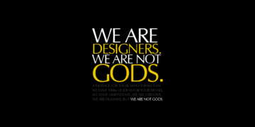 We are designer humour poster