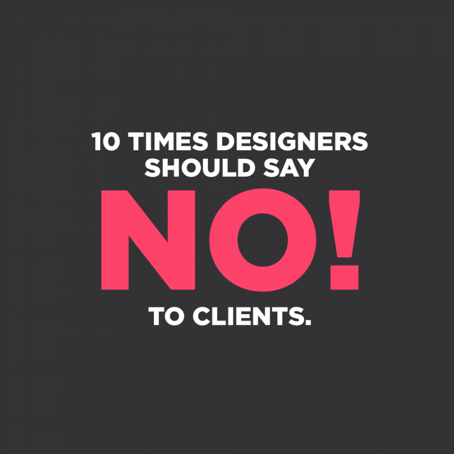 10 Times Designers Should Just Say No