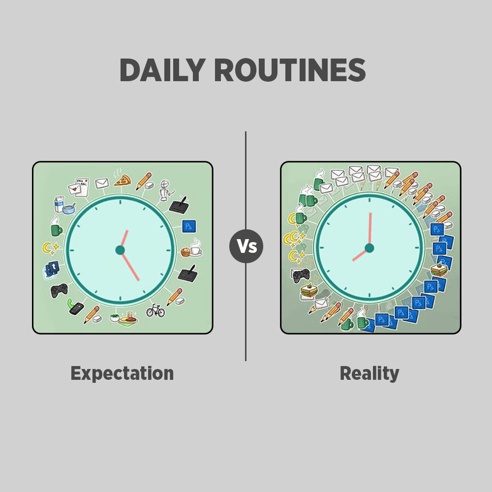 Graphic Designer - Expectation Vs Reality