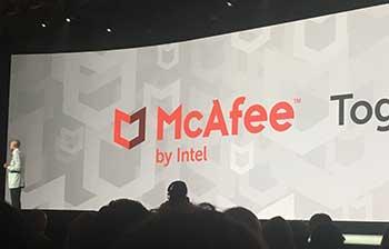 McAfee New Logo by Intel
