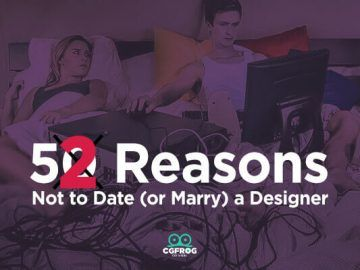 Not date (or marry) a graphic designer
