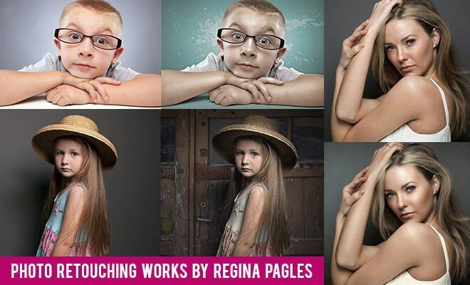 Photo Retouching works