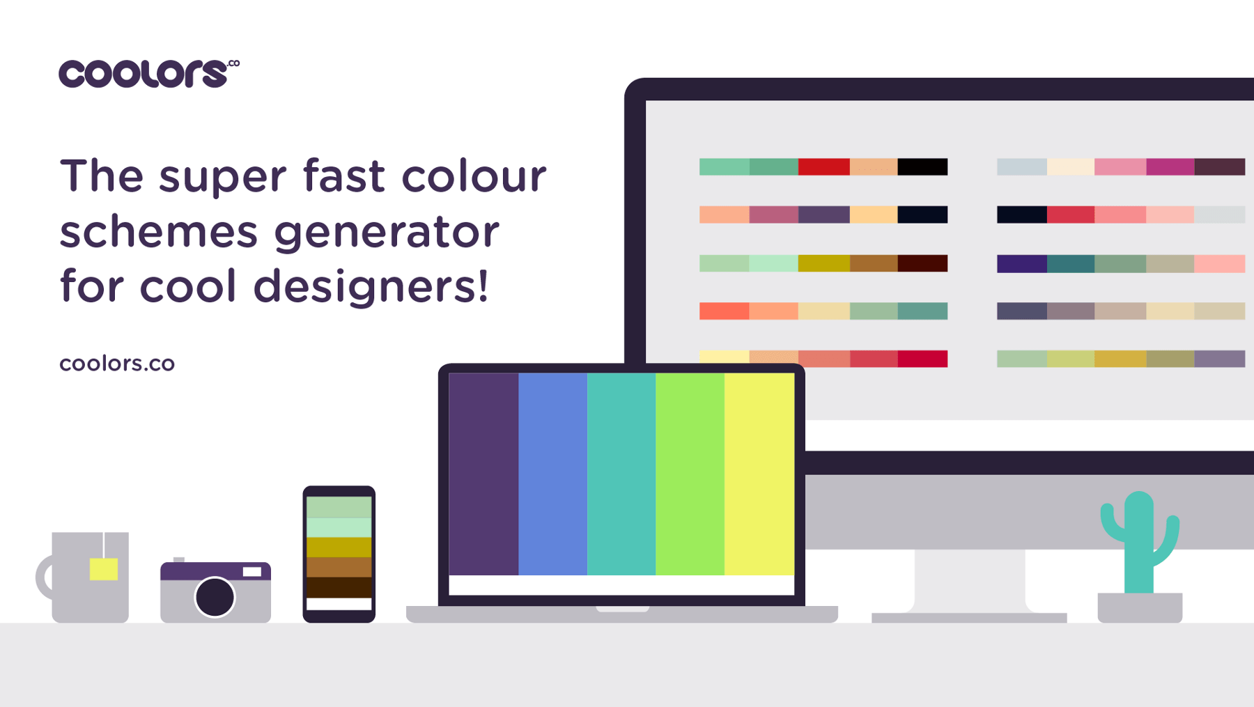 Graphic Designer Resource - Coolors