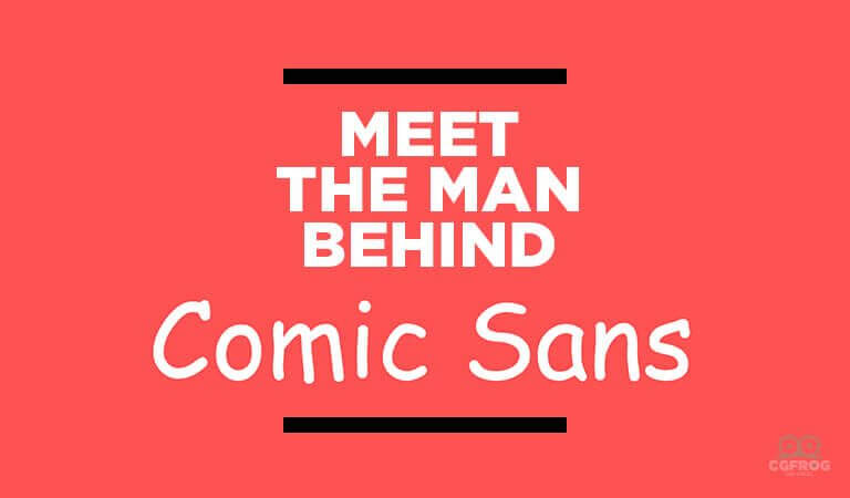 Man Behind Comic Sans
