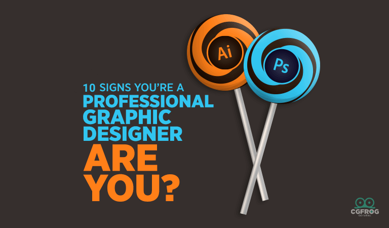 10 signs of Professional-Graphic-Designer