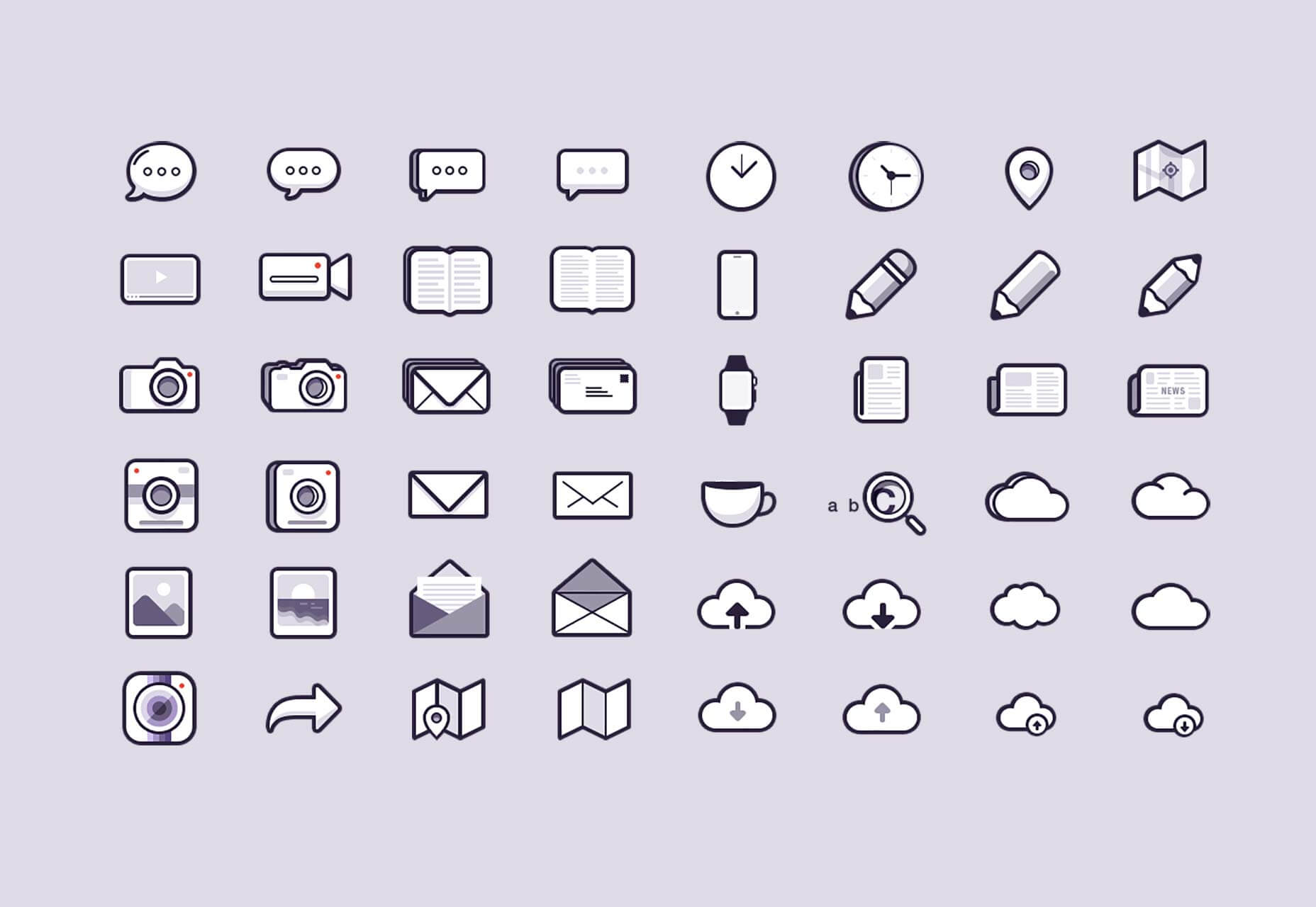 Download 48 Icon Pack