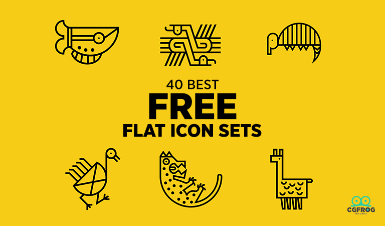 40 Best Icons download free