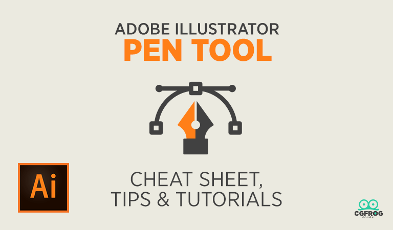 how to use pen tool in illustrator pen tool cheat sheet tutorials