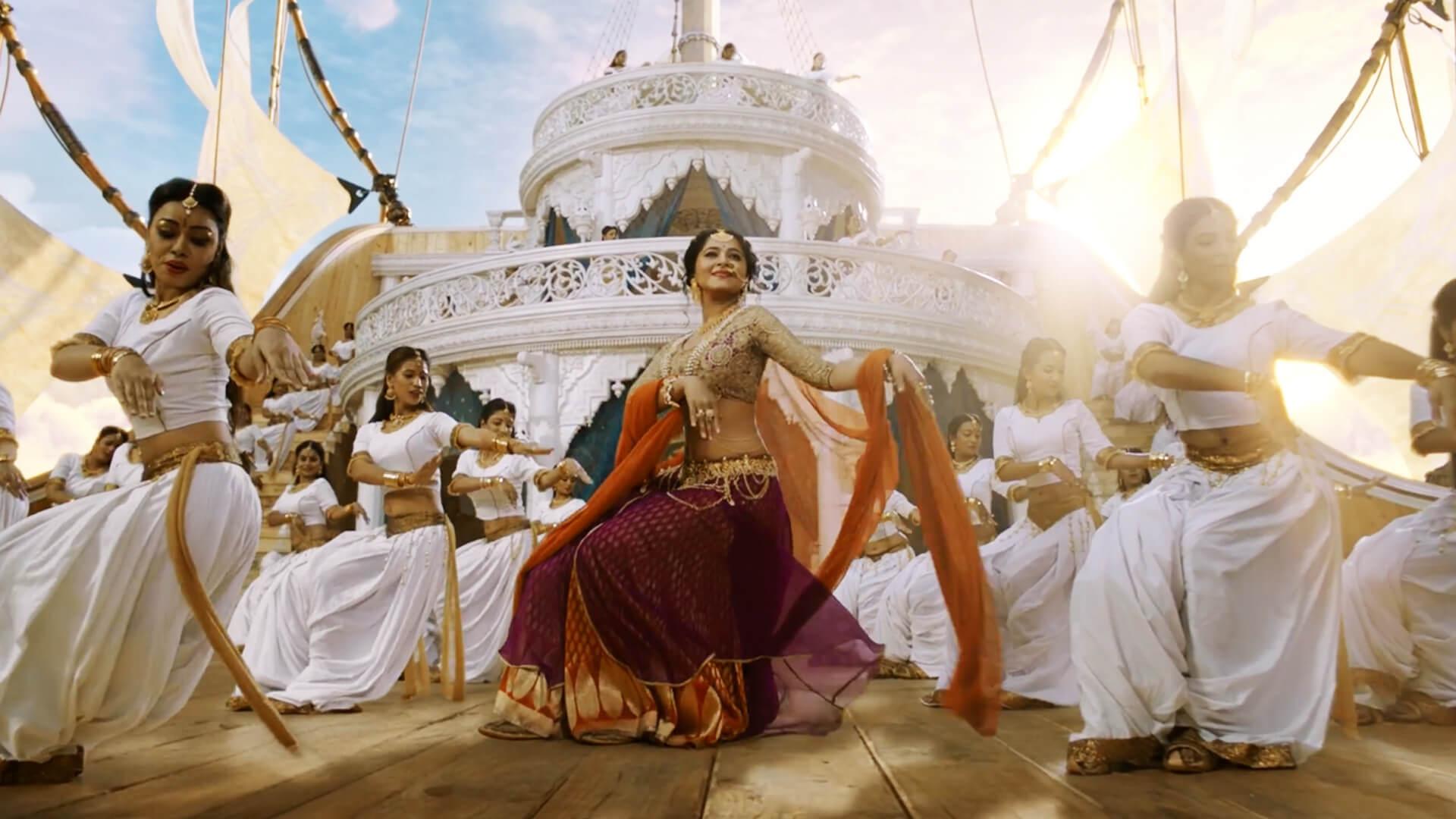 Baahubali 2 Images Anushka Dancing