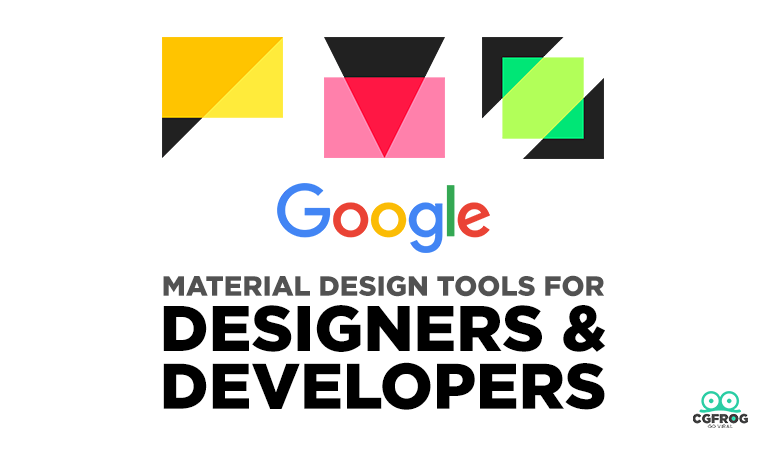 Google Material Design Tools