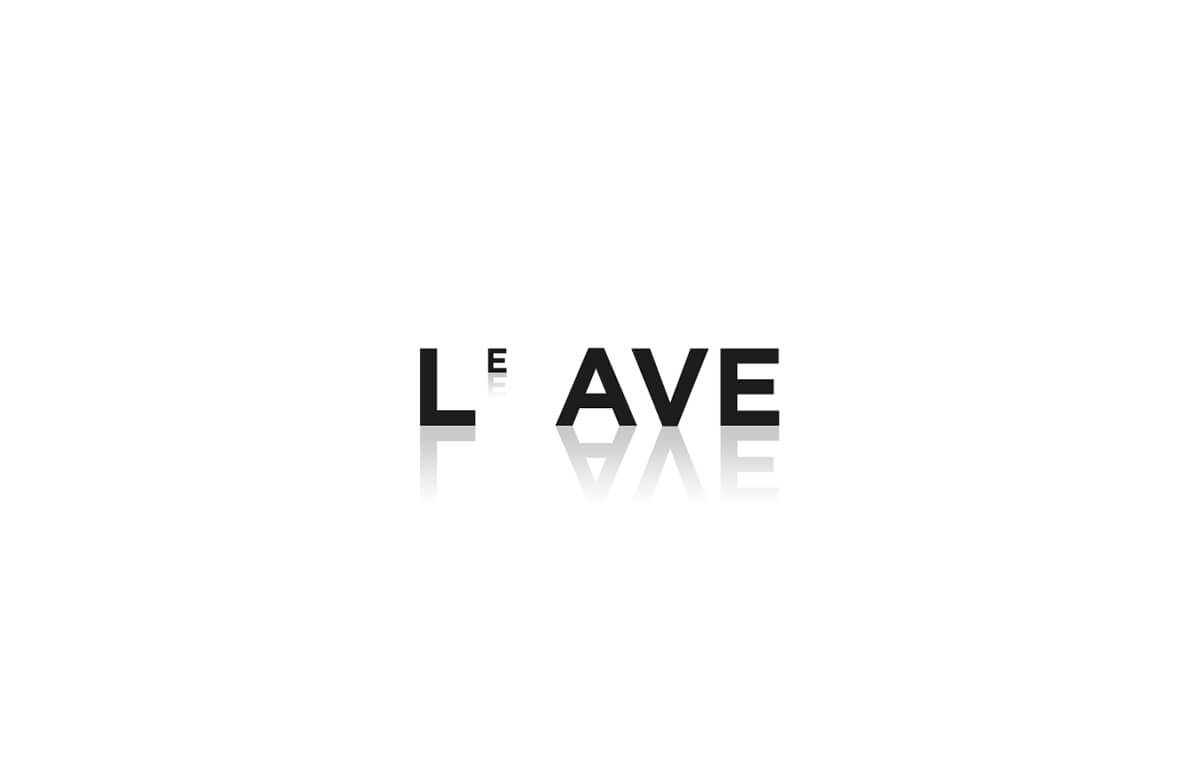 Best Modern Logo Inspiration of Common English Verbs-Leave