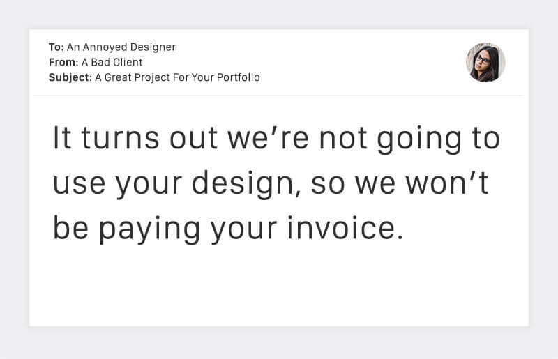 Emails From Horrible Clients
