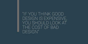 Good Design Doesn't Cost