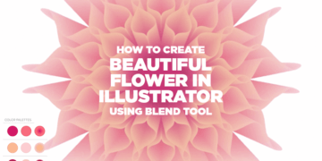 Create Beautiful Vector Flower in Illustrator