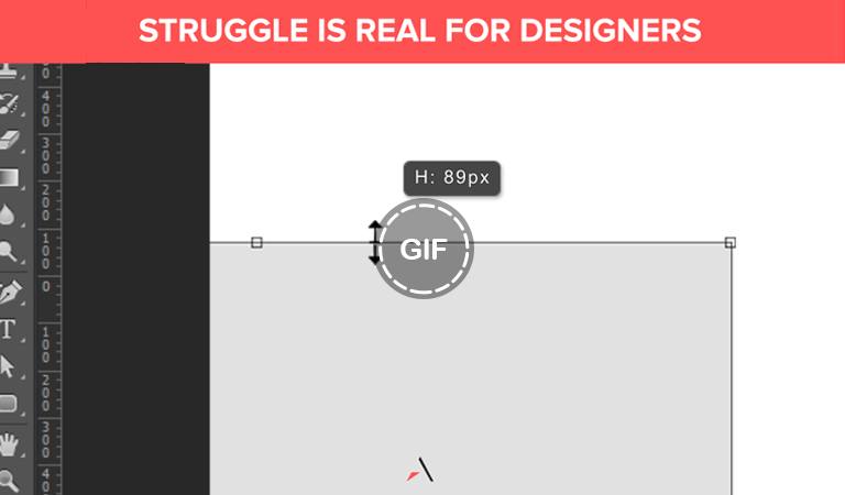 Struggle is Real for Designers