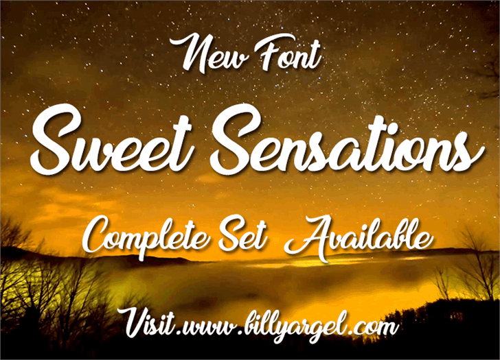 Download Sweet Sensations Personal Use