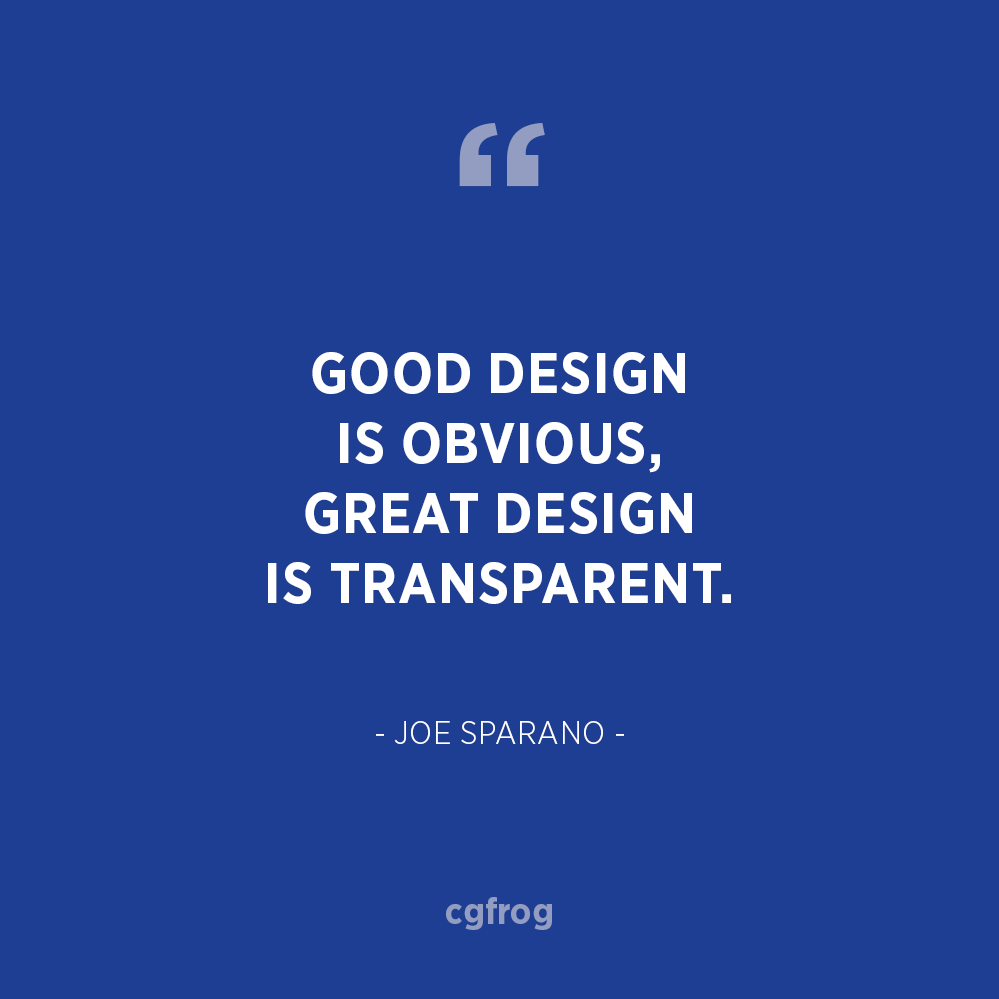 Inspirational Quotes about Design and Creativity Joe Sparano