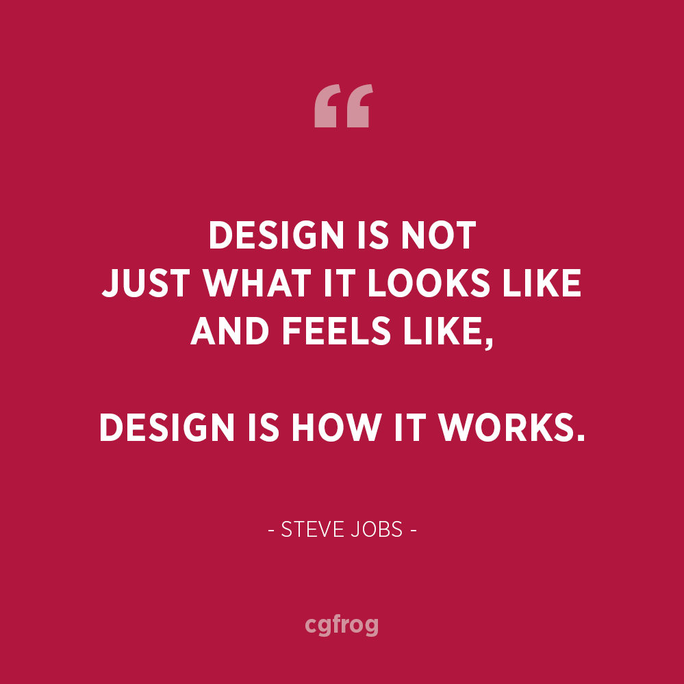 Inspirational Quotes about Design and Creativity Steve Jobs